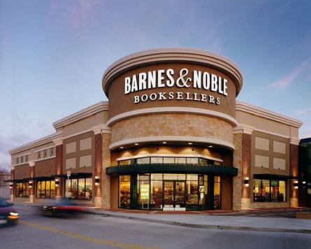 Uma das livrarias Barnes & Noble