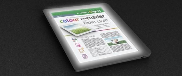 Primeiro eReader de tela colorida