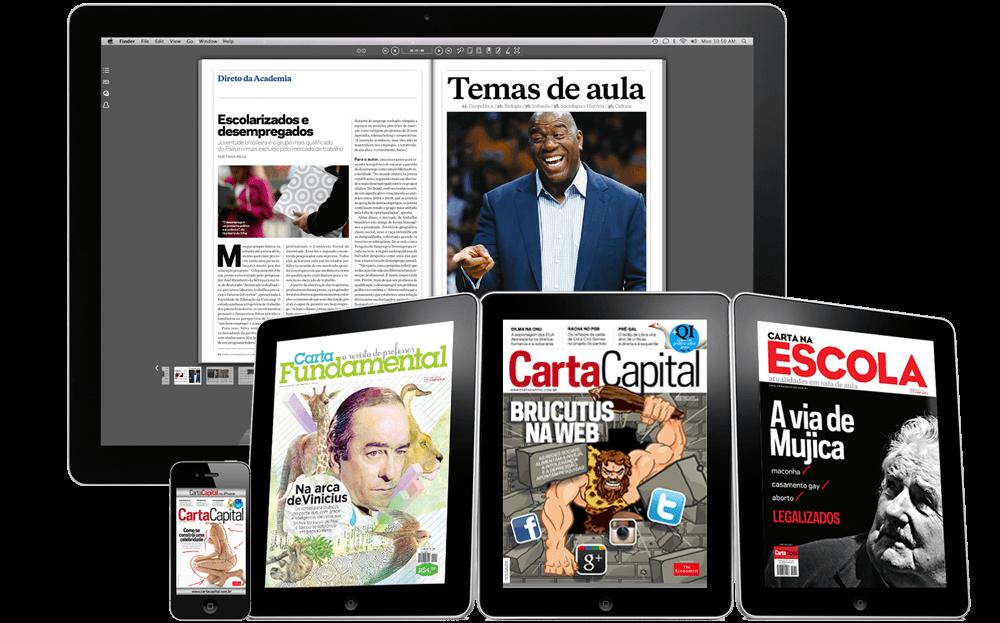Leitura de revistas digitais cresce no Brasil