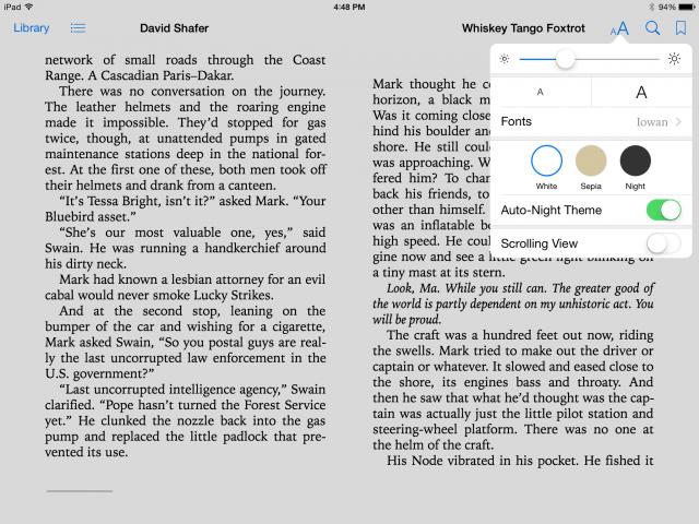 iOS 8 tem melhoria para iBooks