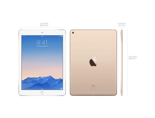 Apple tem o tablet mais compacto (Foto: Divulgação)