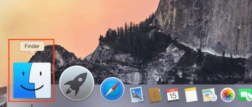 Executando o Finder no OS X (Foto: Reprodução/Edivaldo Brito)