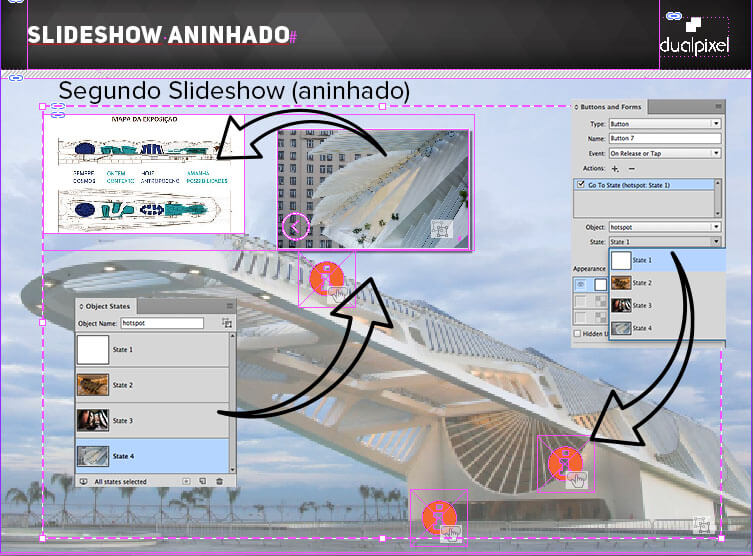 Slideshow - Multi State Objects - Adobe InDesign