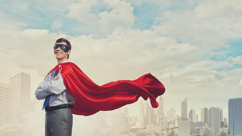 Só você pode ser o herói da sua história
