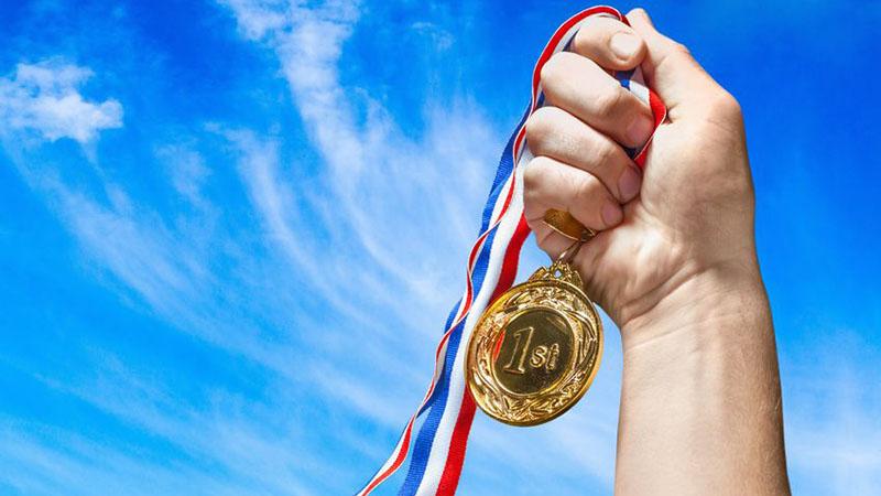 Ganharam 60% das medalhas de ouro