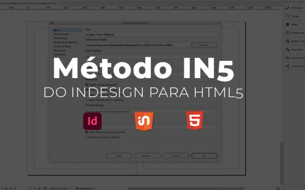 Método IN5 - Indesign para HTML5