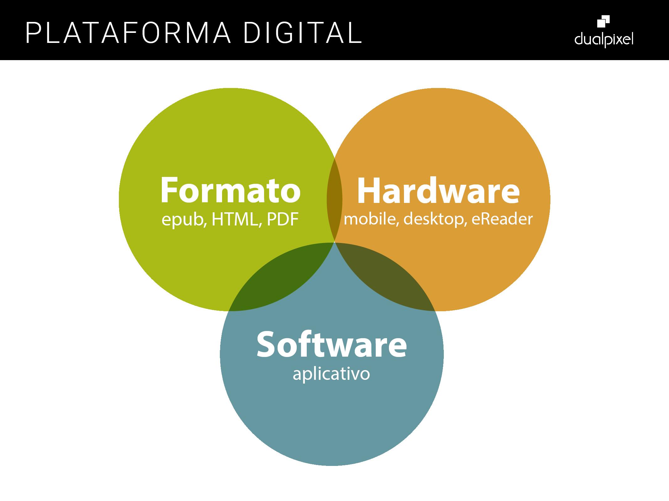 Plataforma Digital - Formato, Hardware e Software